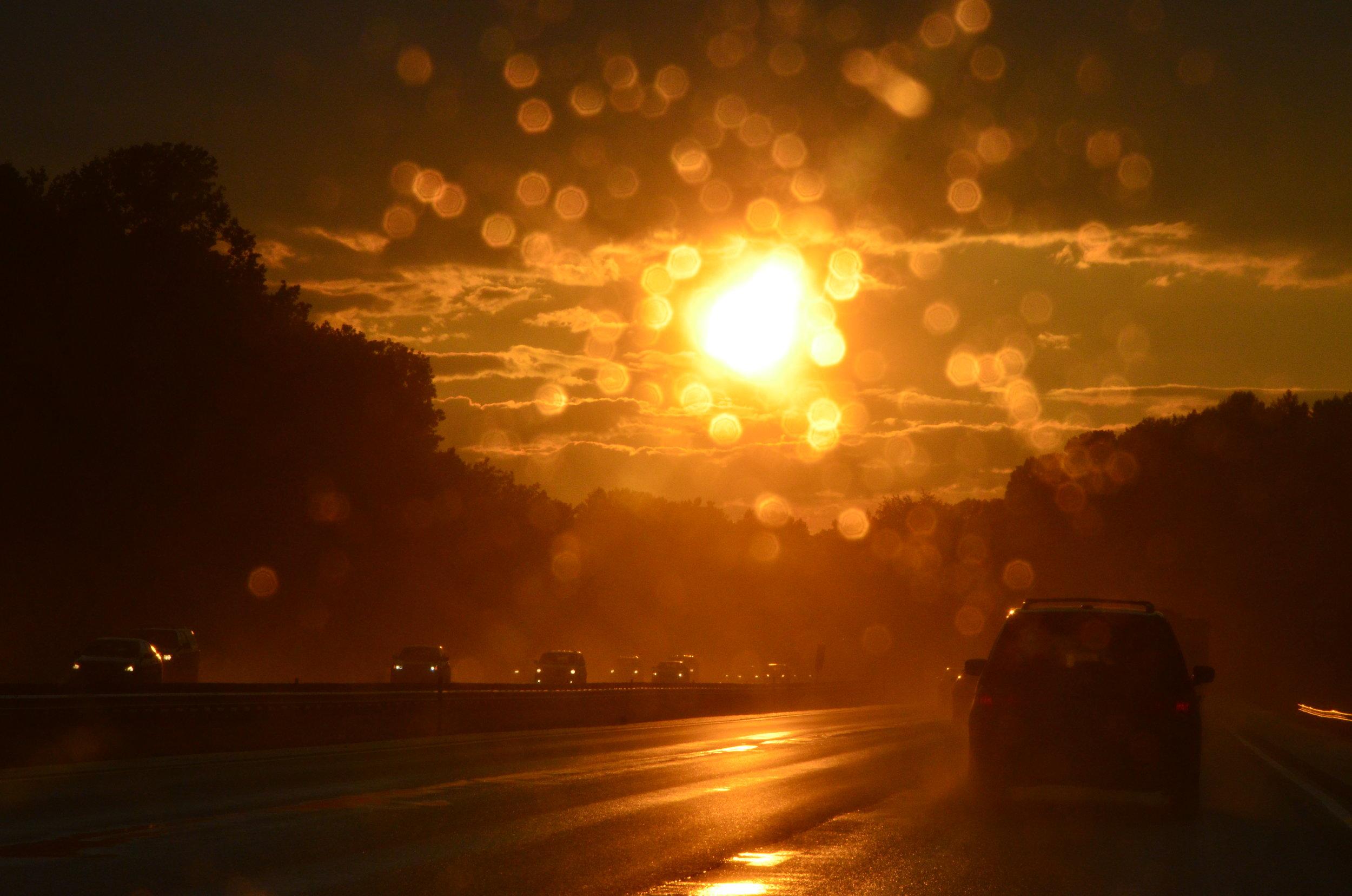 Copy of Sunshower at Sunset