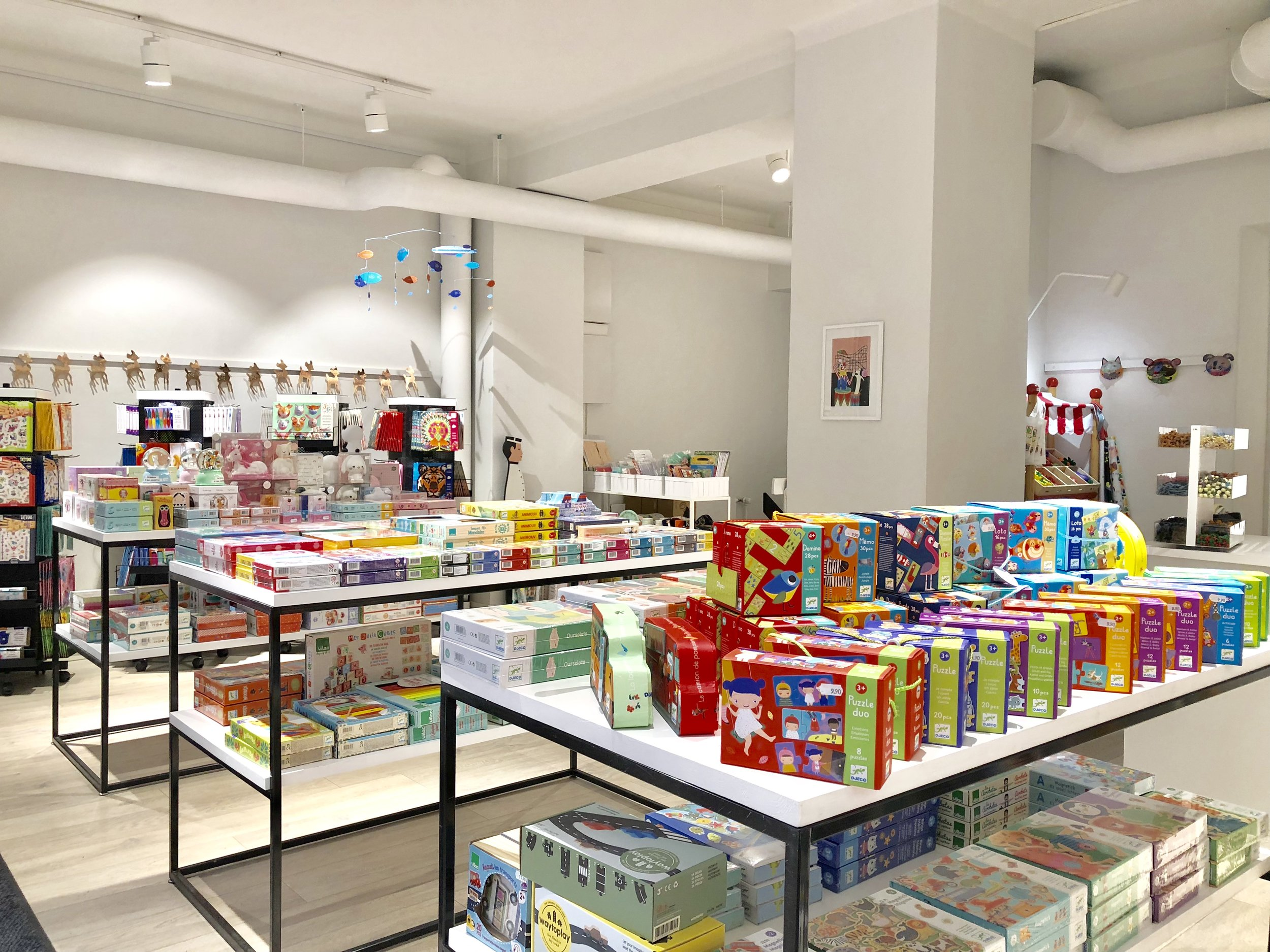 Zicco children's toys and clothes store in Helsinki