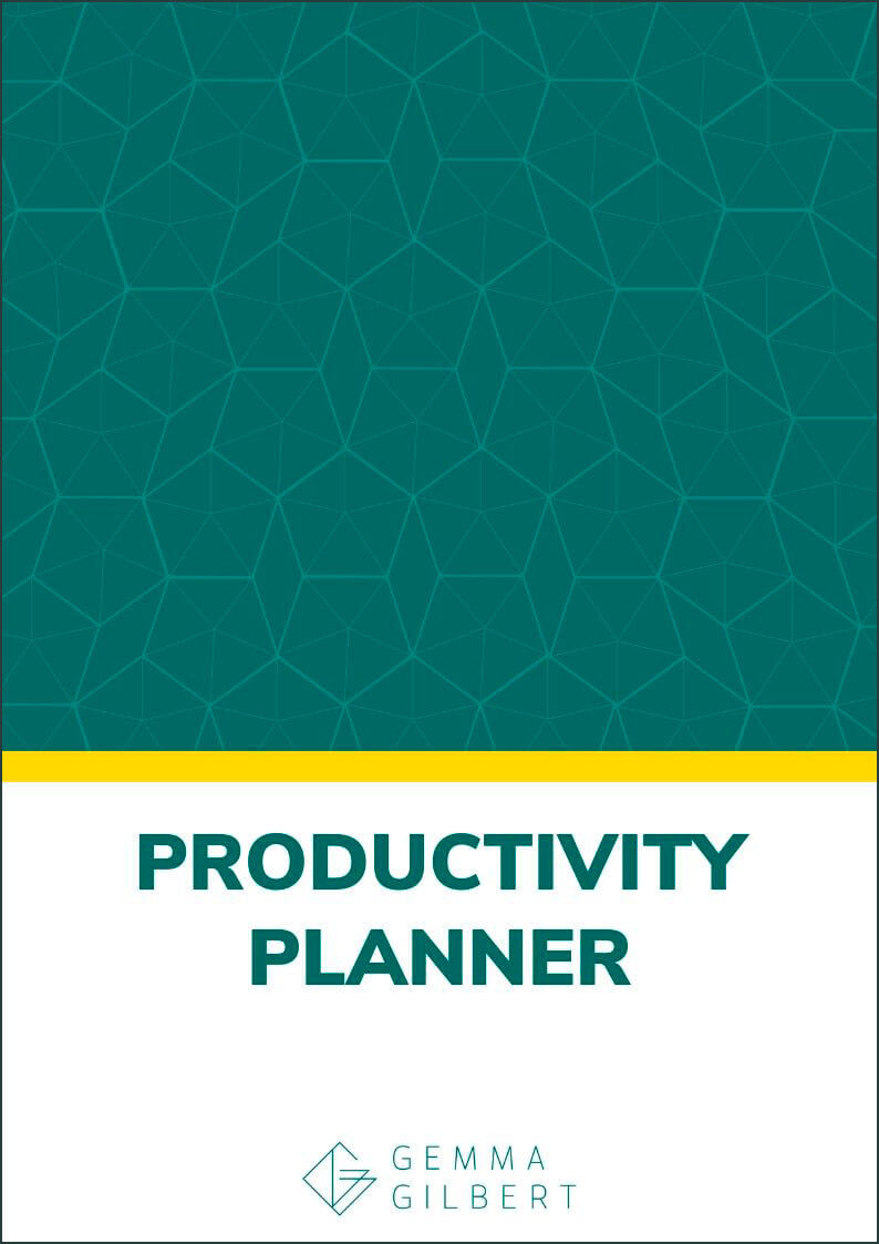 Set yourself up for success with this free productivity planner. Plan your goals, beat procrastination and always know exactly what to do each day