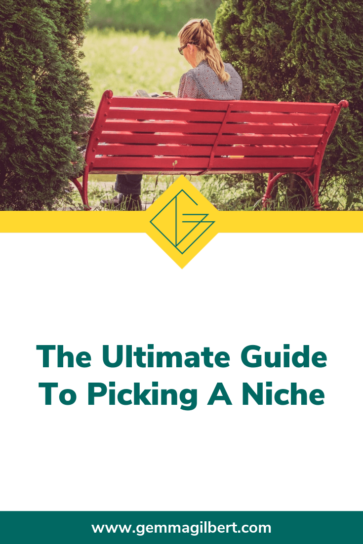 Picking a niche can feel like you're running in circles, but getting clarity on WHO you serve and WHAT results you get them will help you grow your business. Your niche will evolve over time as you develop your business, but start now and let it develop as you go | www.gemmagilbert.com