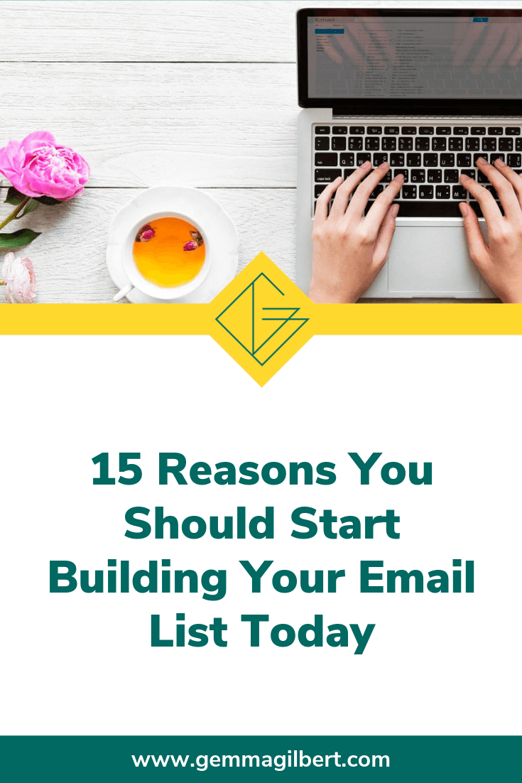 When I changed careers to be a Business coach, it didn't cross my mind that I might need to start building an email list. Luckily, my coach pointed me in the right direction and it's one of the best decisions I made. Not sure if it's for you? Keep reading then | www.gemmagilbert.com