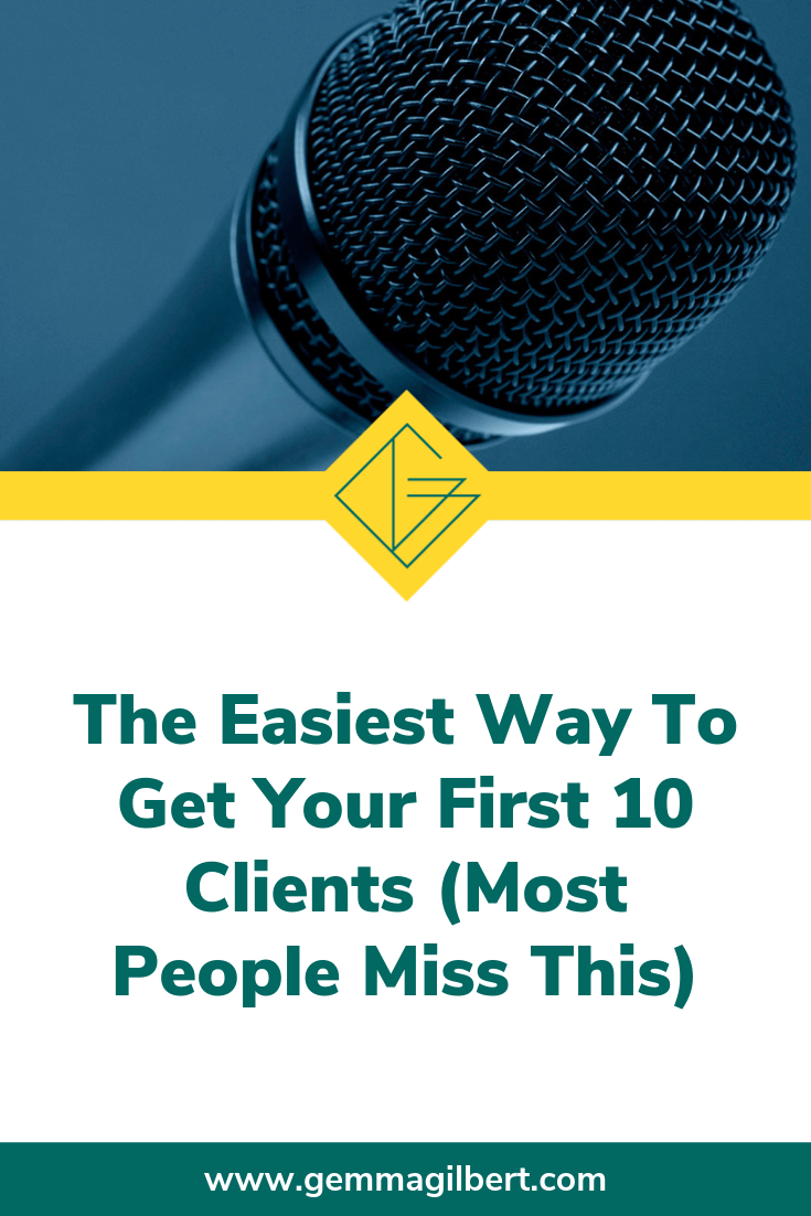 Finding clients when you first start your business can seem totally overwhelming. It feels like there is so much to do, and it can be difficult to know what to do first. These tips will get you on the right track to finding your first clients | www.gemmagilbert.com