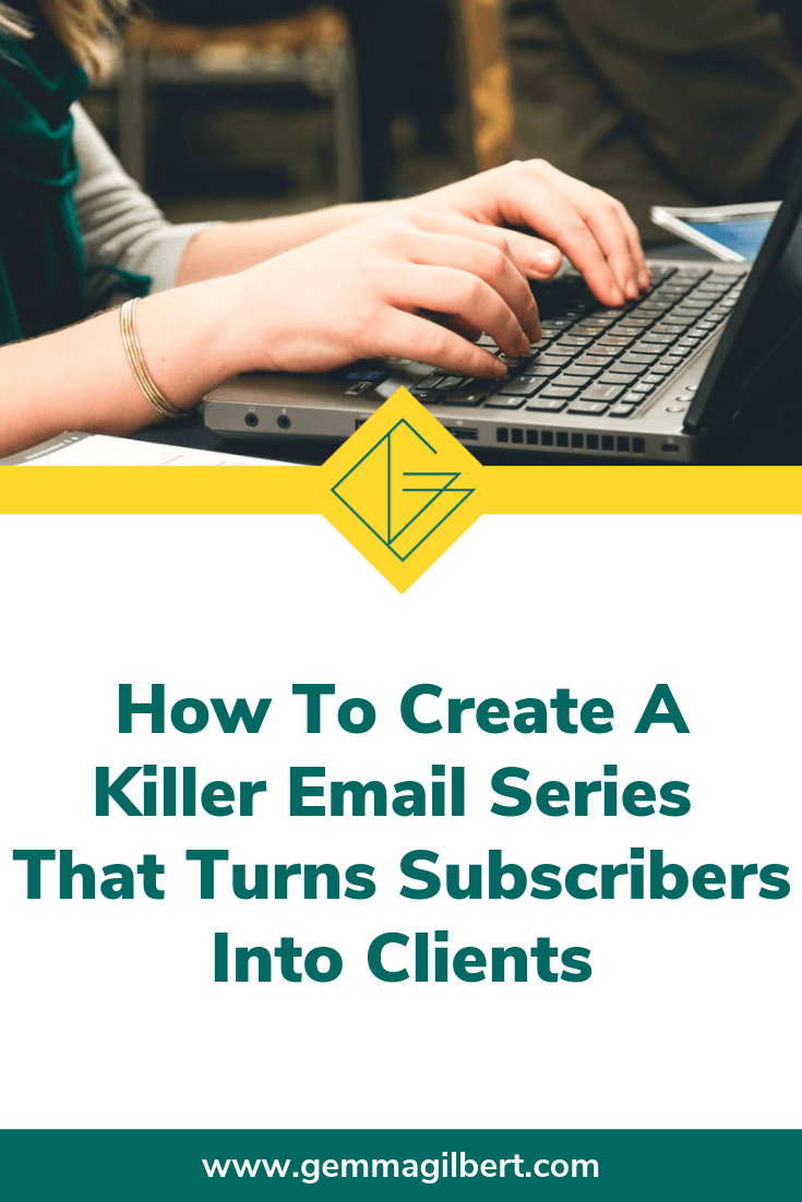 The main purpose of email marketing is pretty obvious: get leads onto your email list so you can sell them your services. Get this right, and you have an engaged list of your ideal clients, primed and ready to buy from you | www.gemmagilbert.com