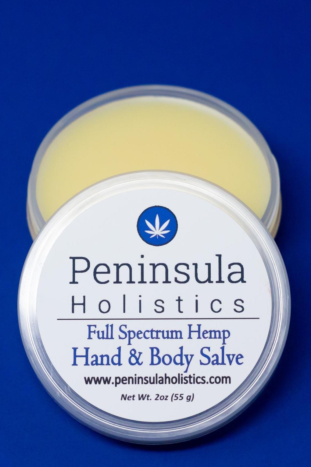 Peninsula Holistics Full Spectrum Hemp  Hand & Body Salve