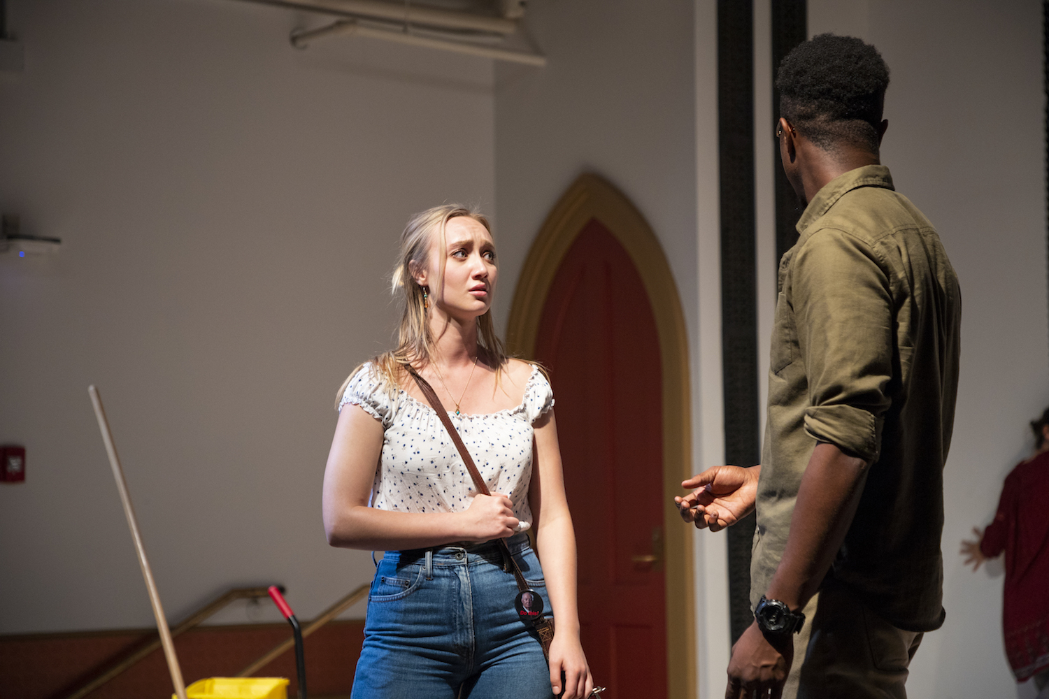 Jaques Mattellus and Melina Young in LOST AND FOUND. Photo by Joseph O'Malley.