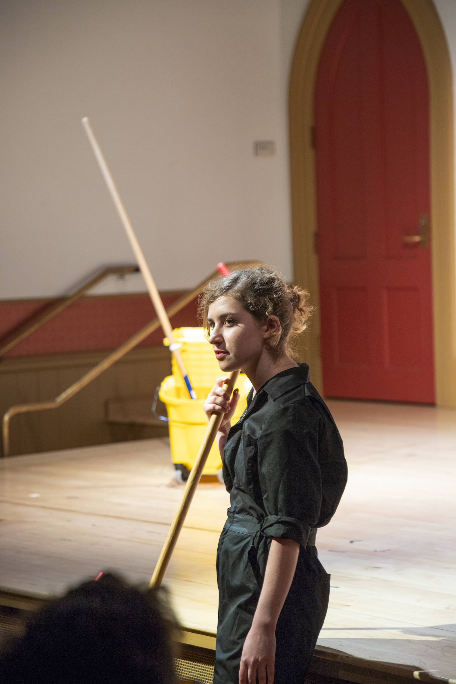 Emma Meyerson in LOST AND FOUND. Photo by Joseph O'Malley.