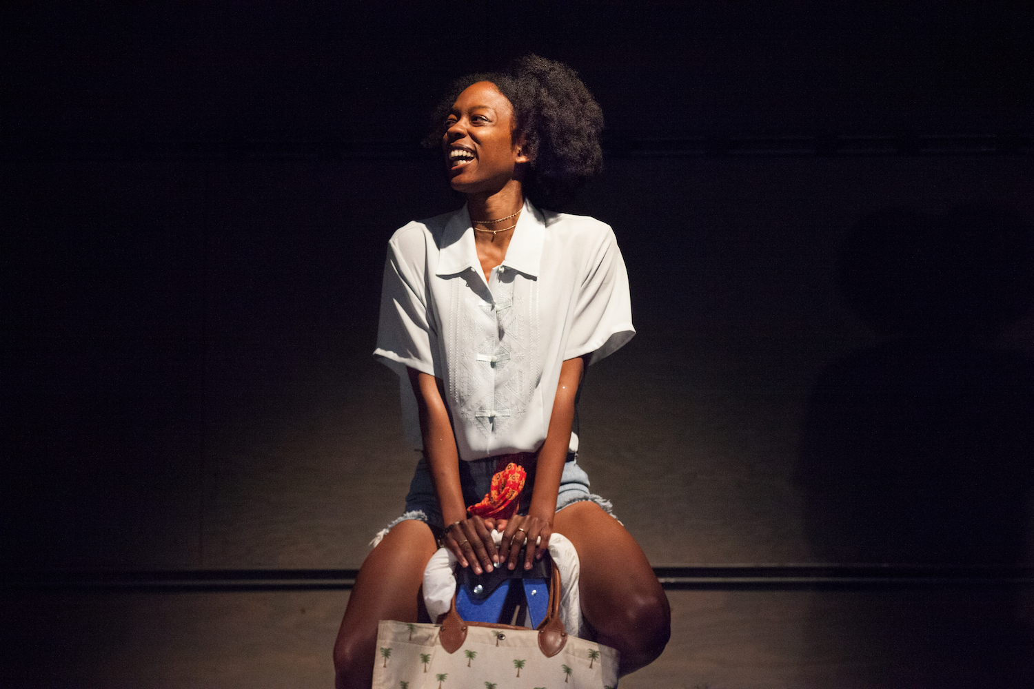 Aizhaneya Carter in PYRAMID EFFECT. Photo by Carolyn Brown.