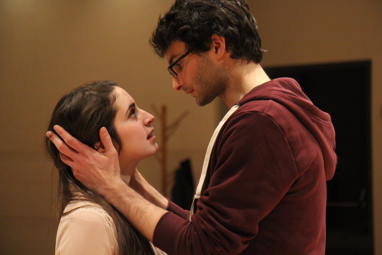 Aliza Sotsky and Aaron Fisher in R&J: HOW I LOVE THY COMPANY (2015). Photo by Morgan Brill.