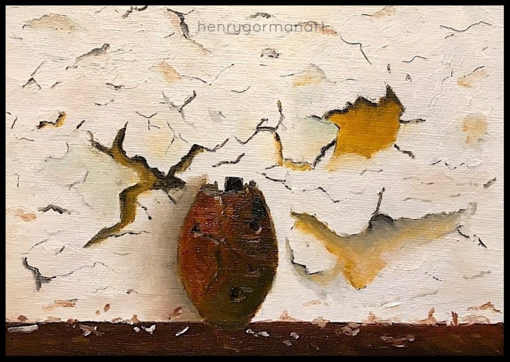 'Cracked Roman Urn'