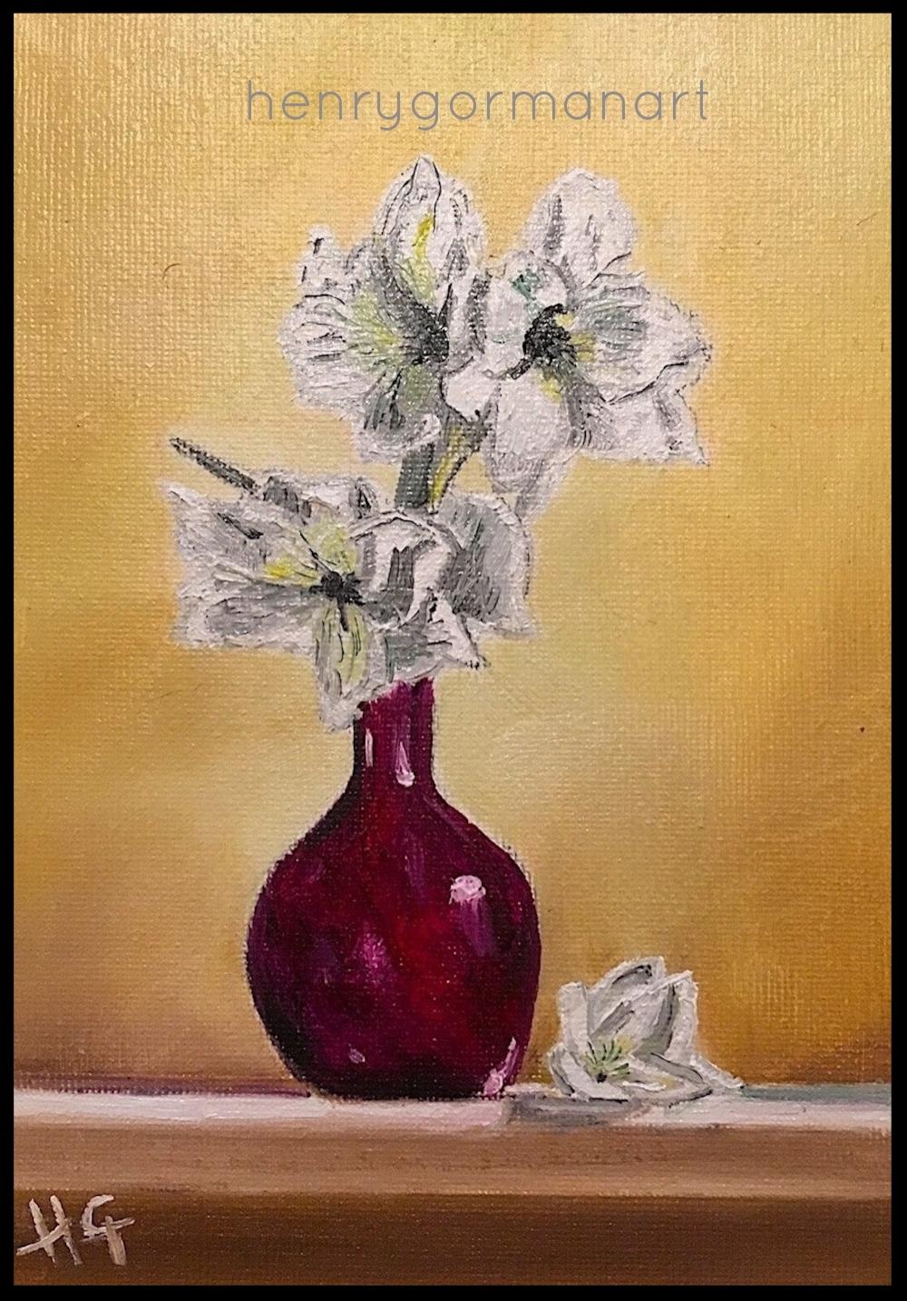 'Red vase'