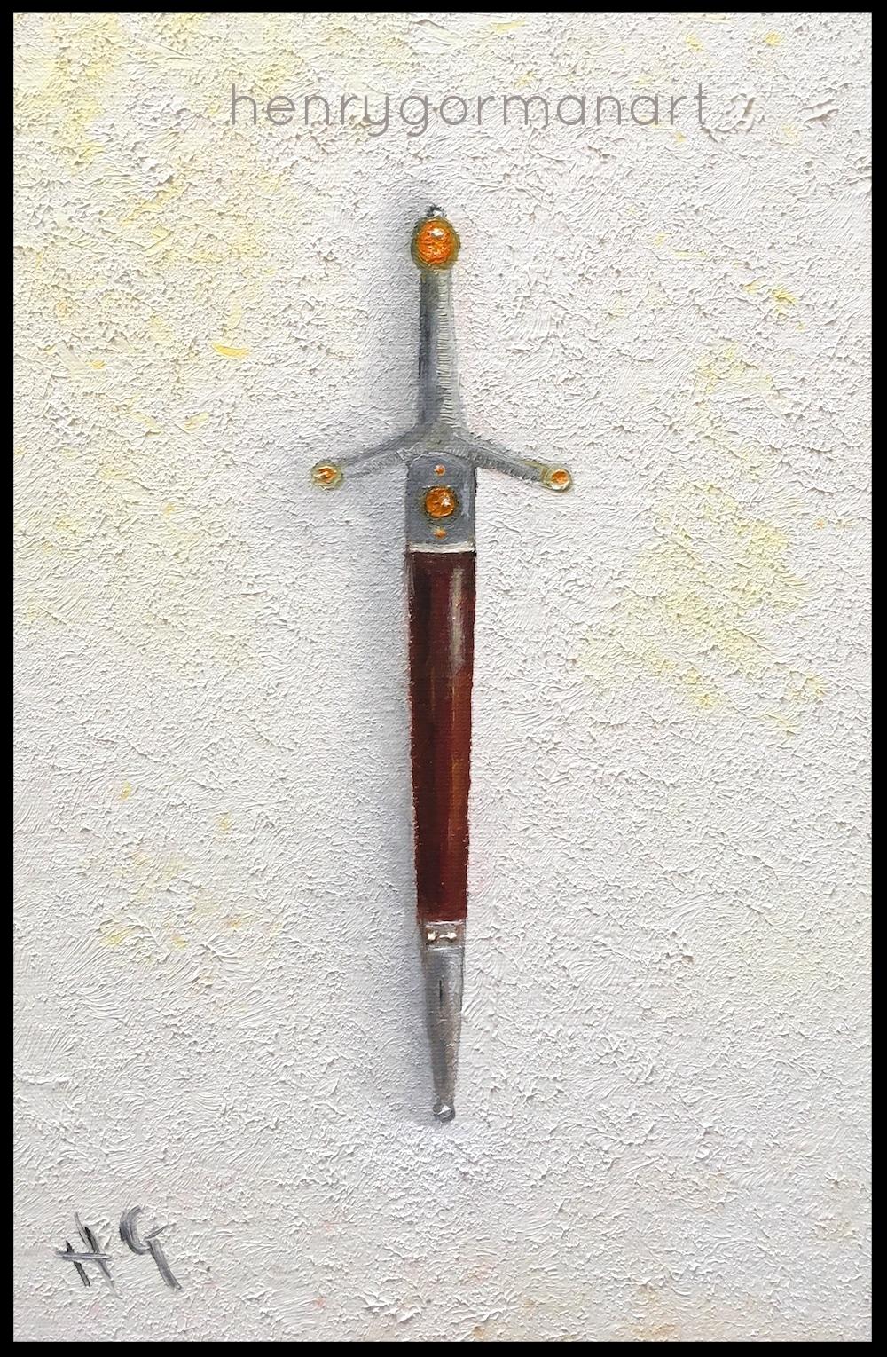'Amber dagger'