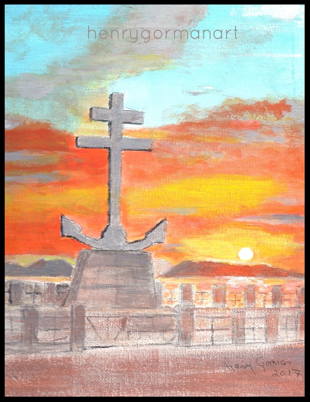 'Cross of Lorraine' Greenock