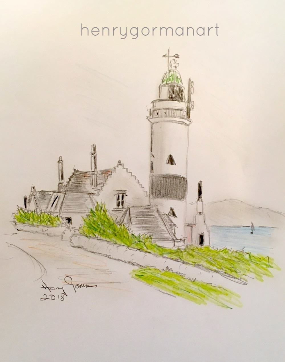 'Cloch Lighthouse' Gourock
