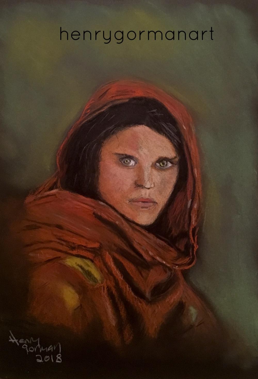 'Afghan girl'