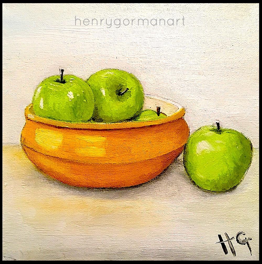 "'Green apples"""