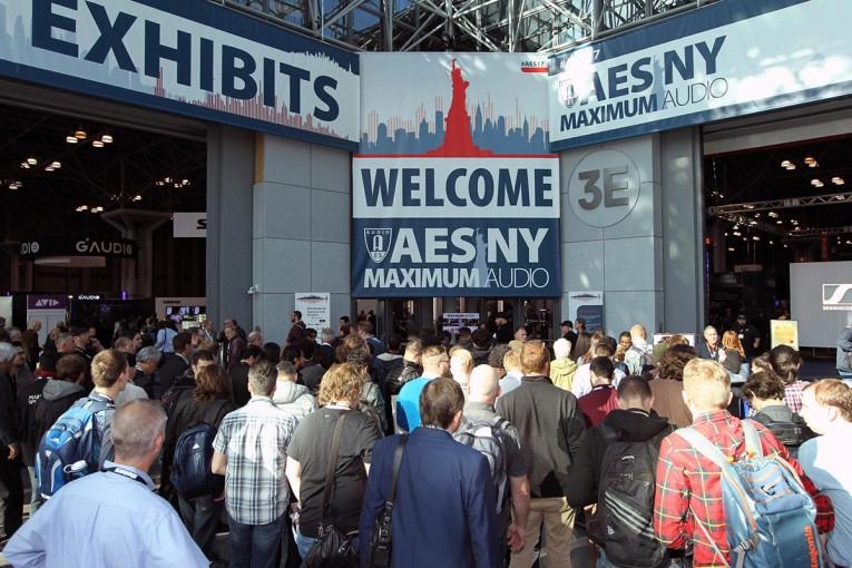 AES NYC Exhibition Entrance
