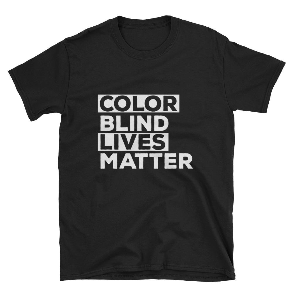 Color Blind Lives Matter Shirt