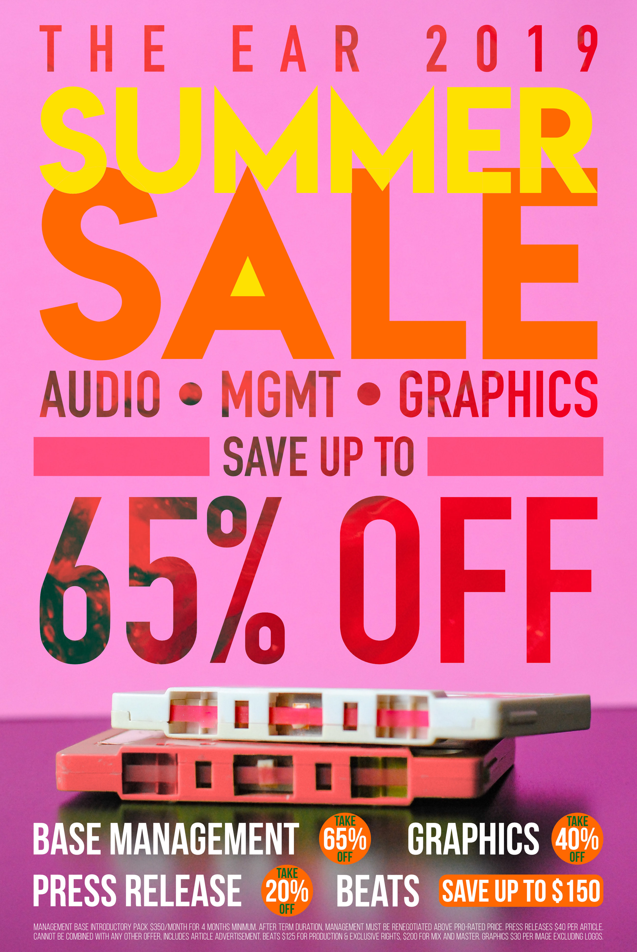 SAVE ON EAR SERVICES DURING OUR SUMMER SALE