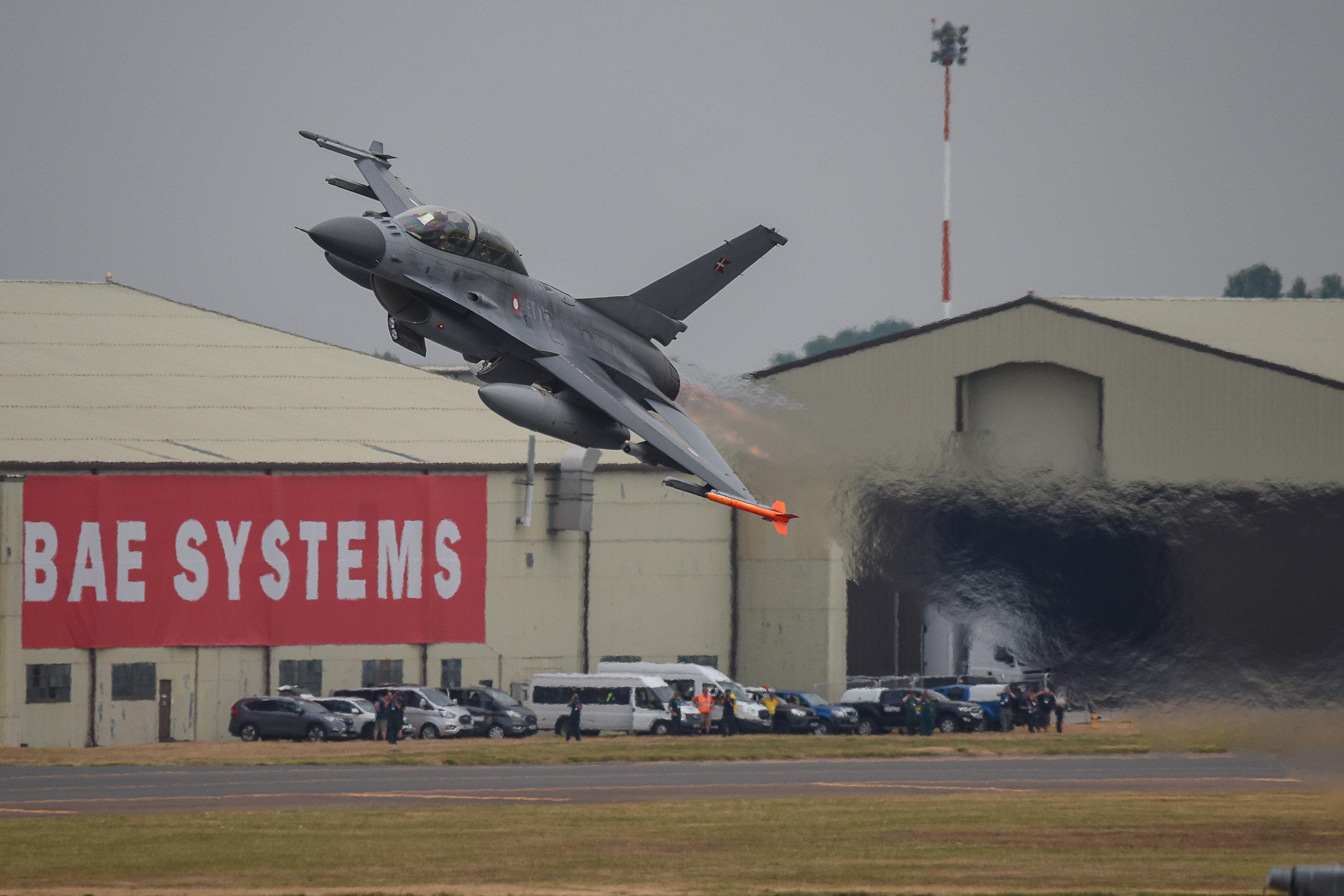A Danish F-16