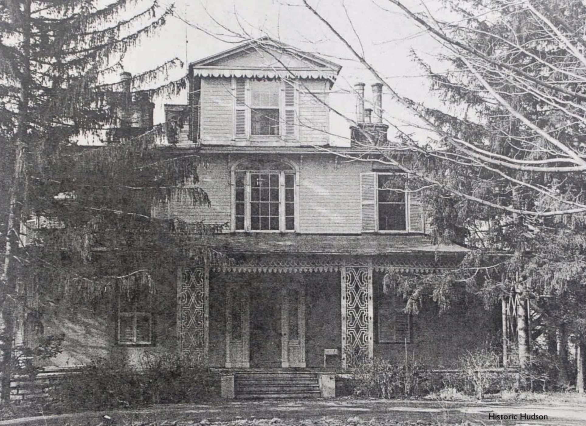 East Elevation of Bronson House. Undated Photograph.