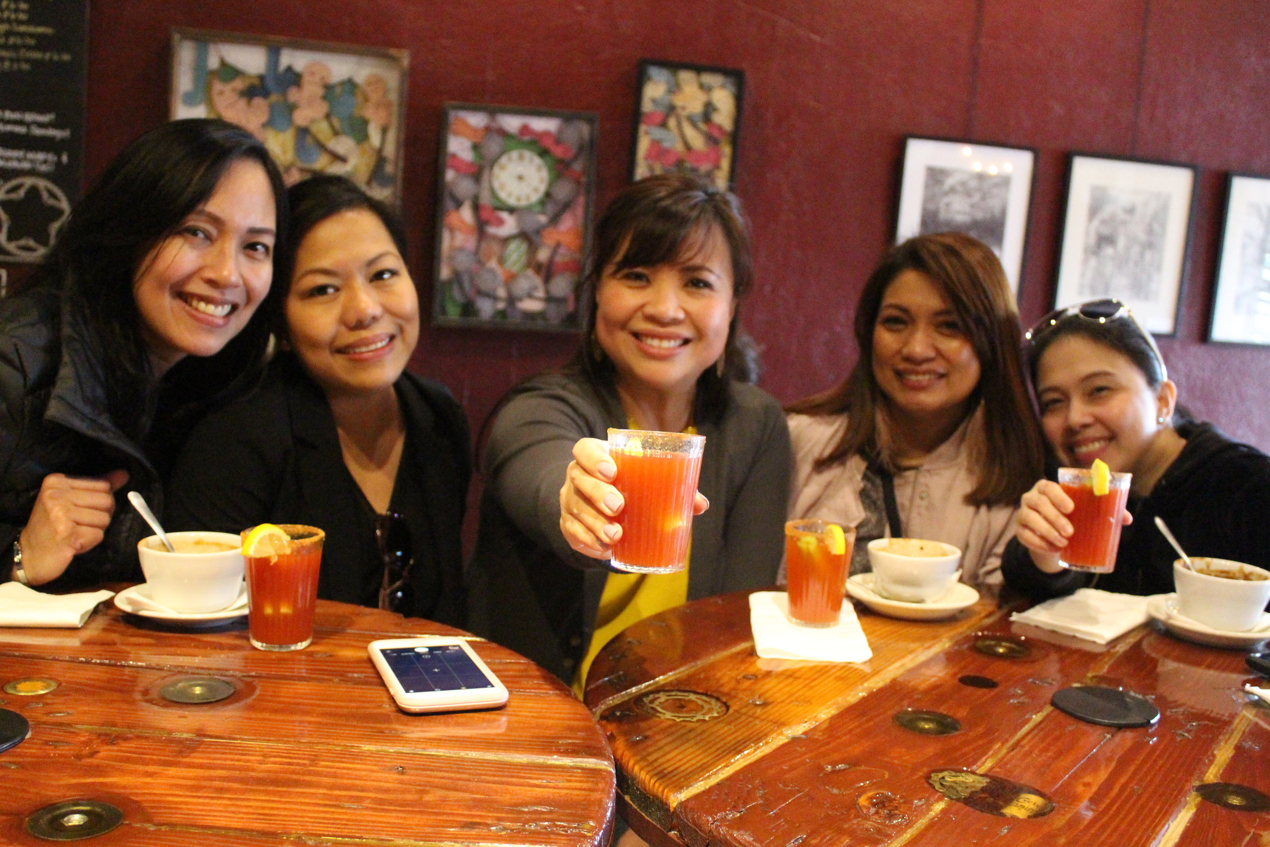 Sunday Funday Brunch Tour at B3 Cafe
