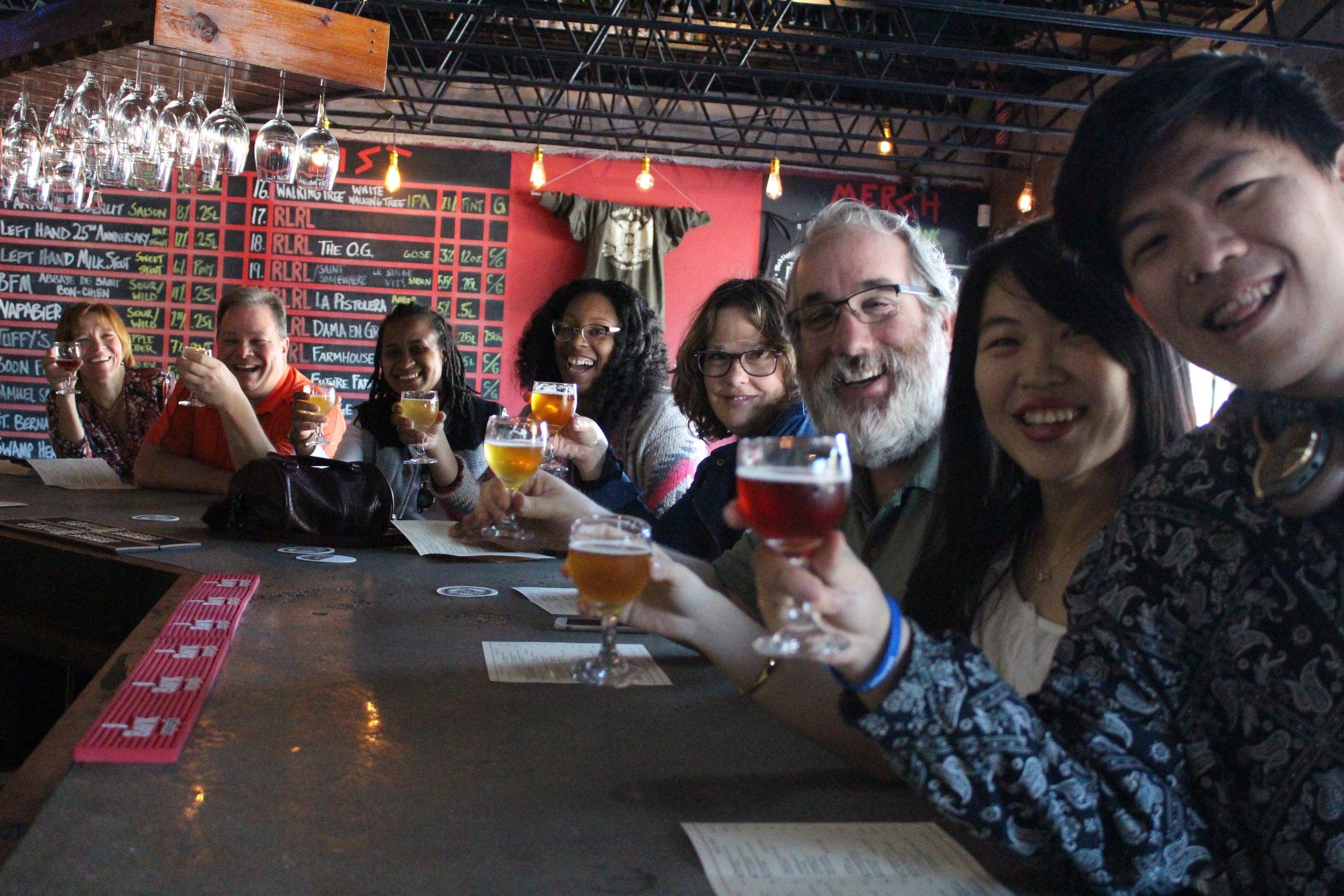Beer Tasting at Redlight Redlight