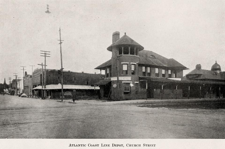 Church Street Train Station: 1910