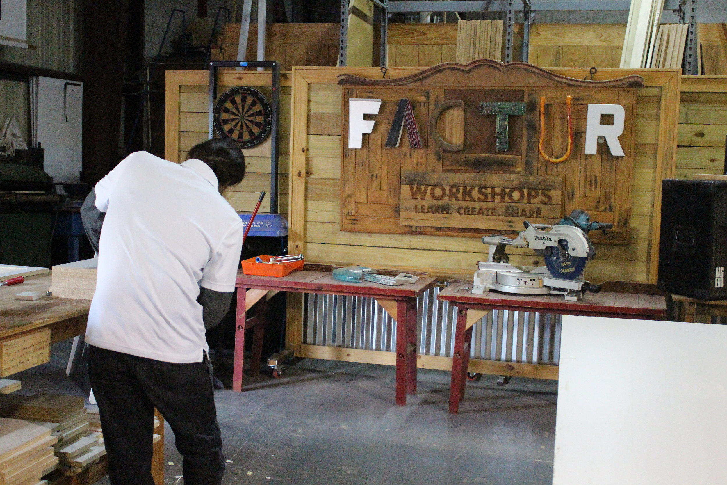Inside the FACTUR Makerspace