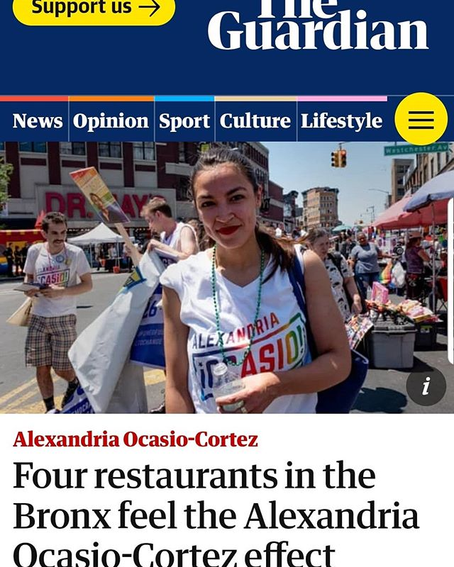 """We are on """"THE GUARDIAN"""" NEWSPAPER. Thank you Alexandria, we hope to see you soon!!!!"""