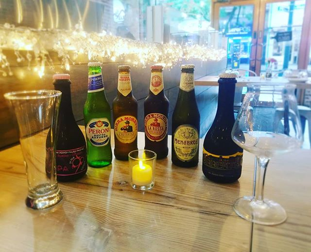 We don't only have Italian Pasta... we do serve Italian Beer too!!!