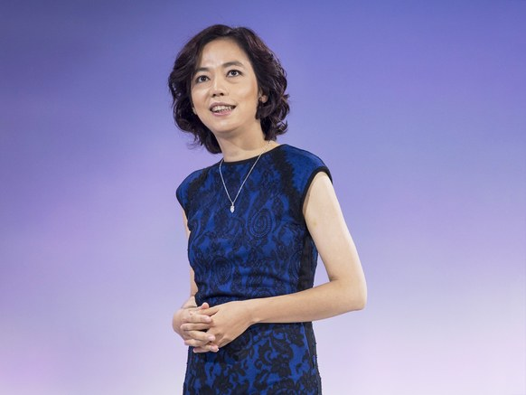 Fei-Fei Li, codirector of Stanford's Center for Human-Centered Artificial Intelligence.  David Paul Morris/Bloomberg/Getty Images