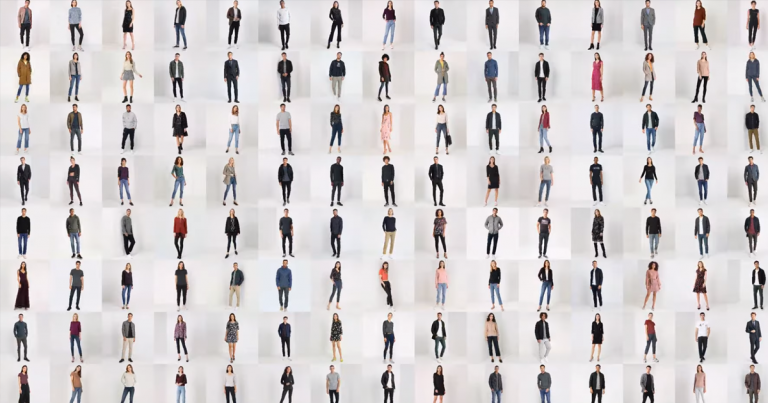 2. Amazing AI Generates Entire Bodies of People Who Don't Exist -