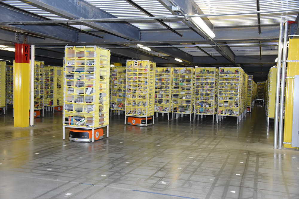 4. Amazon Says Fully Automated Shipping Warehouses Are At Least a Decade Away -
