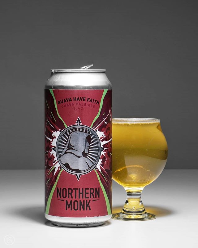 Here's what I believe is the last of the UK beers I got from @eddgarbs, a delicious Pale Ale from @northernmonk! Guava Have Faith is brewed with, well, guava but also passion fruit and lactose! And it definitely brings that tropical fruit flavor. At 5.4% ABV, it's a nice crusher, with just the right amount of smoothness. Thanks Ed!