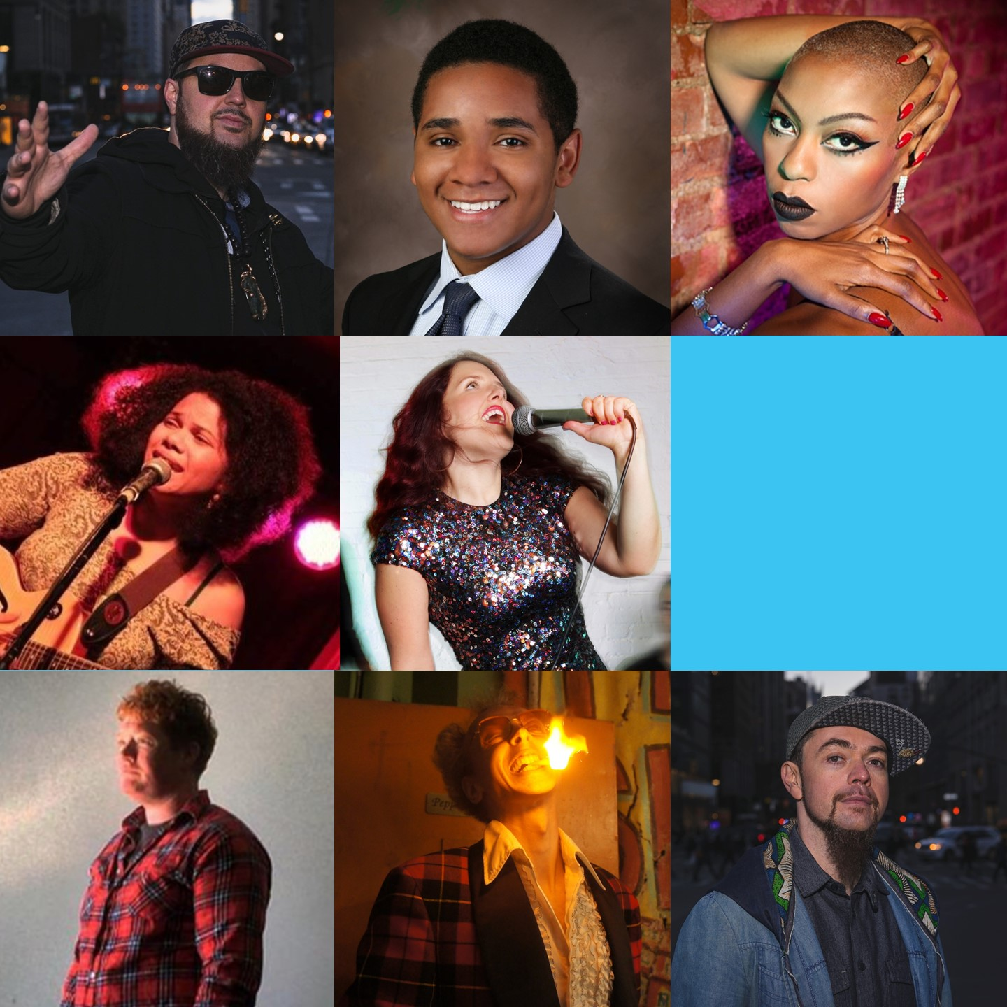 July 13 & 14, 2018   Hosted by Rebecca Vigil  FEATURING: Yako 440 & Baba Israel (Freestyle Beatbox Showcase) Delysia La Chatte (Electrifying Burlesque) Becca Blackwell (Brash & Bold Comedy) Ambrose Martos (Witty Physical Comedy) Grace Galu (Soulful Singer) Marcus Stevenson (Classical Viola)