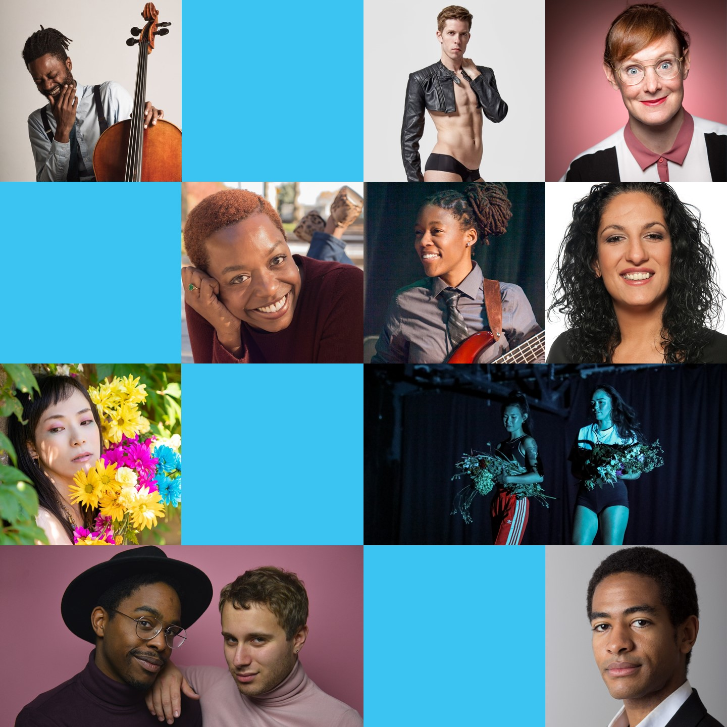 October 19 & 20, 2018   Hosted by Dara Jemmott  FEATURING: Fab the Duo (Power Couple Pop) Jess Salomon & Eman El-Husseini (Comedians) Kristine Haruna Lee & Jen Goma (Spoken Word) Ganessa James (Singer-Songwriter) Malcolm Parson (Cello) Twinky Boots (Burlesque) Shihori (Singer-Songwriter) Josh Henderson (Classical Violin)