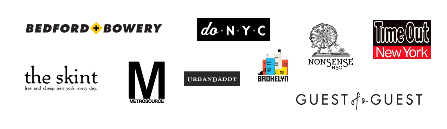 RSVP sends a big shout out to all of these publications for their continued support.