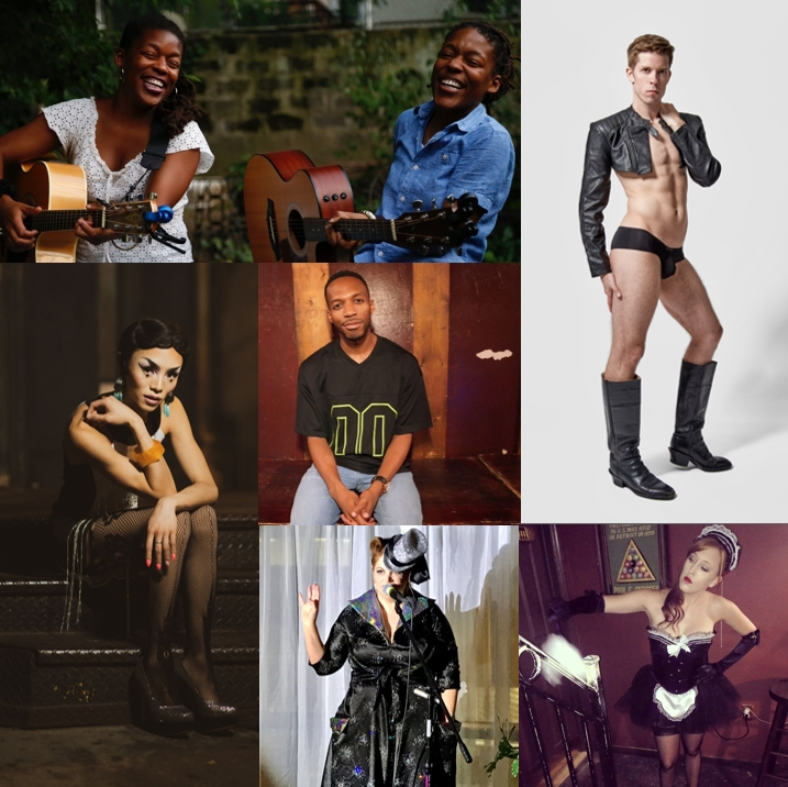 September 25, 2019 - at The Norwood Club   Hosted by Kiko Soiree  FEATURING: Onliest (Roots Music & Harmonies) Twinky Boots (Hot Boylesque) The Lady Aye (Sideshow Marvels) Kimbrûlée (Opera mixed with Burlesque) Alex English (Stand-up Comedy)
