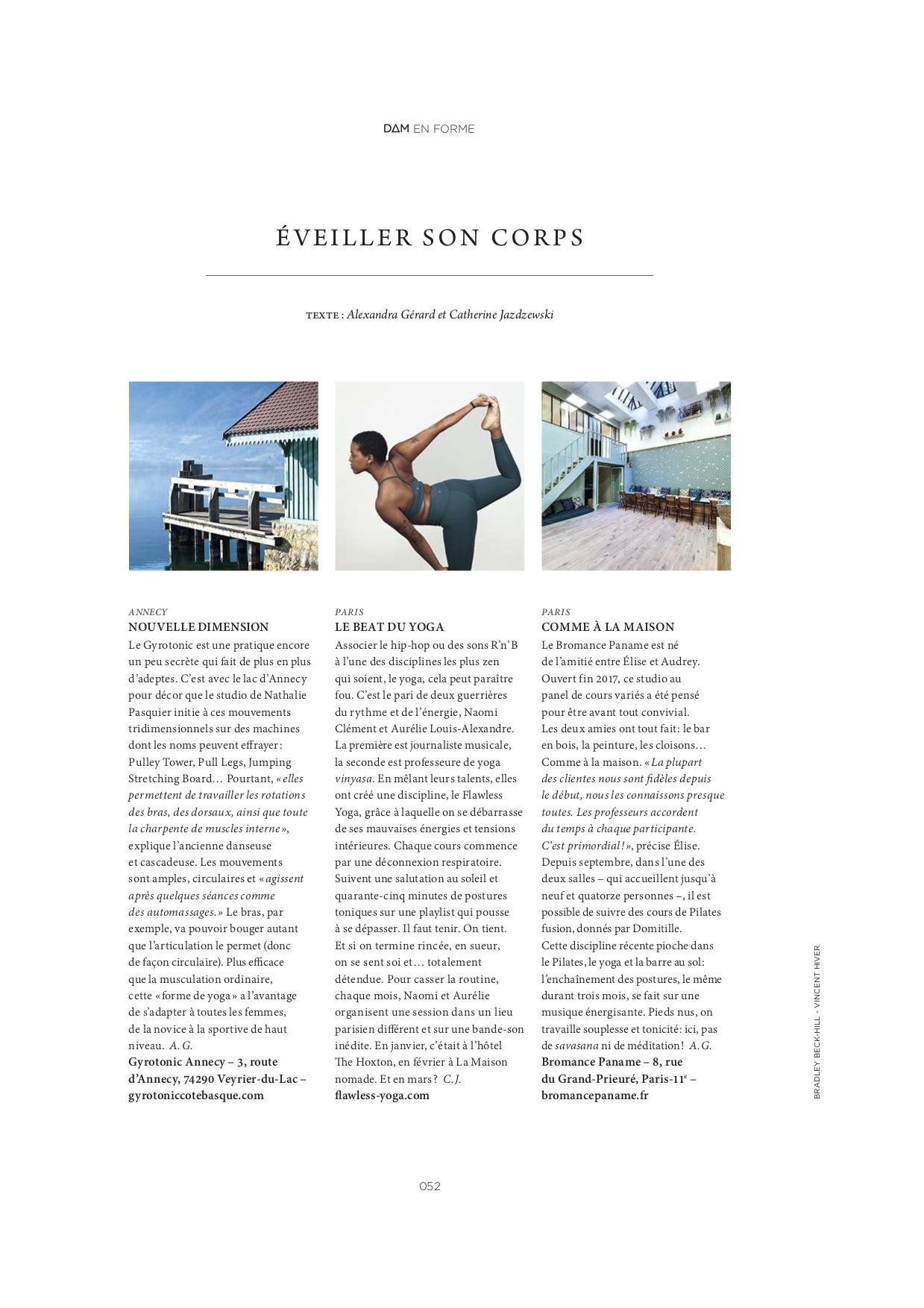 DIM DAM DOM magazine, édition Printemps 2019