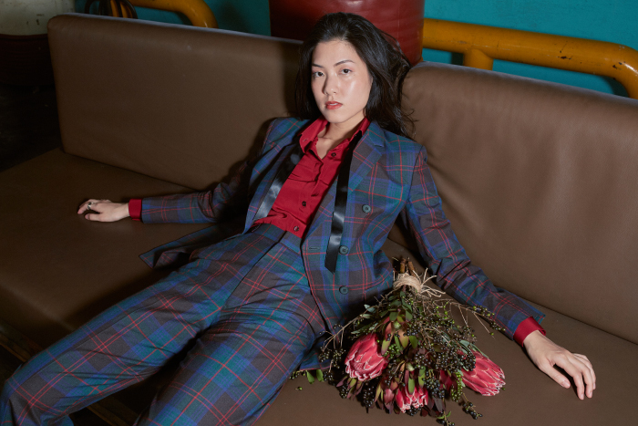 Christmas Plaid Suit by 3EIGHTH