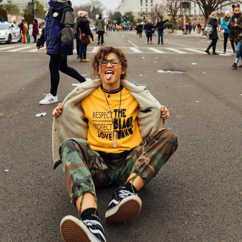 Zendaya in HGC, Photo Courtesy of teen VOGUE