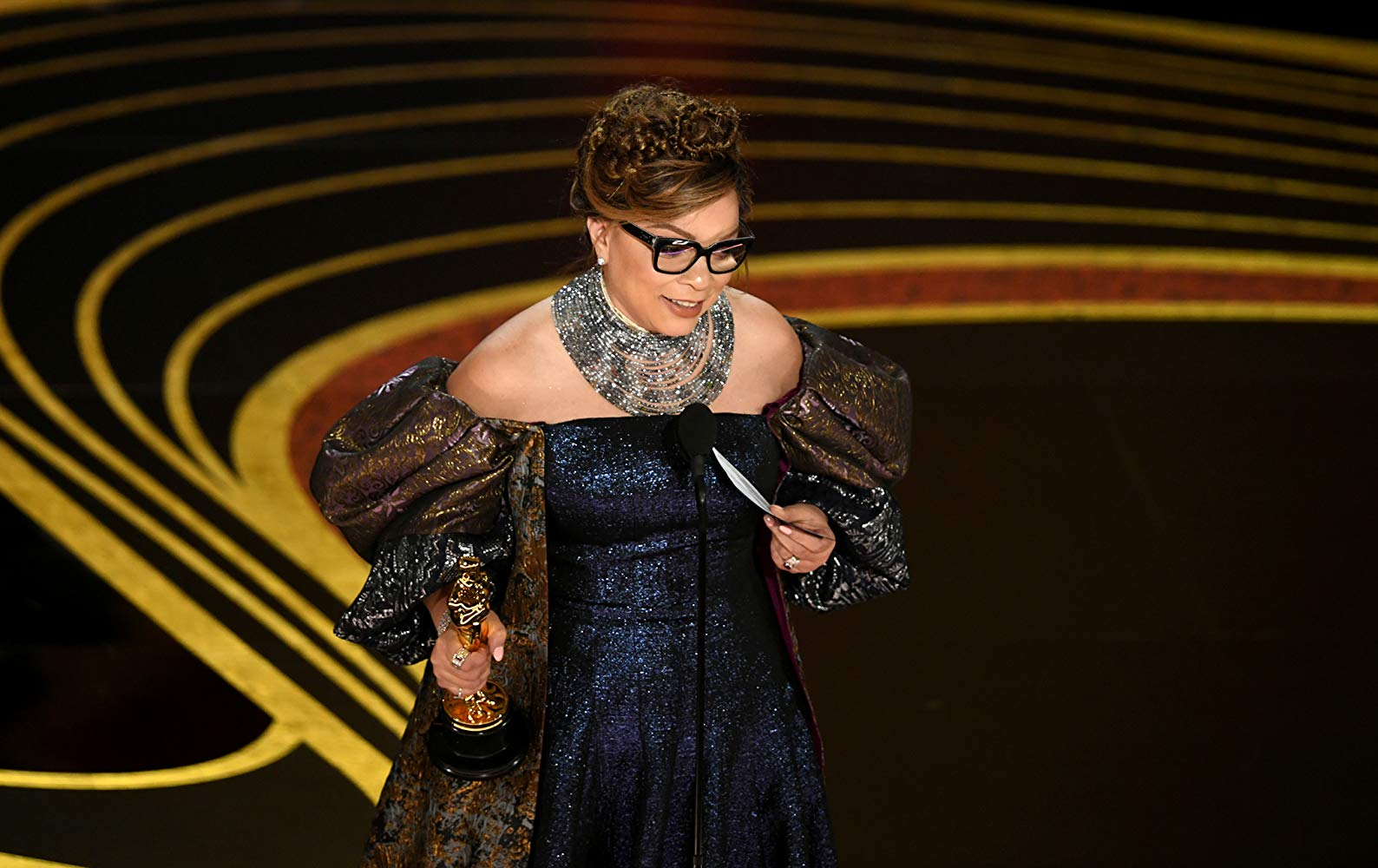 Ruth E. Carter accepts Oscar for Best Costume Design - Black Panther