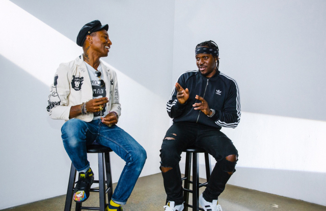 Pharrall Williams and Pusha T, courtesy of WWD