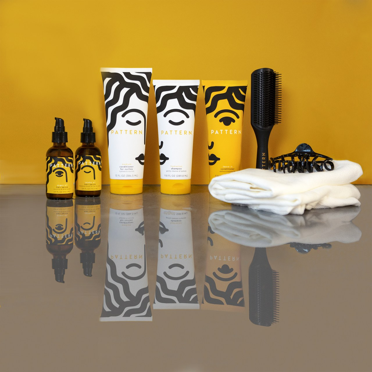 Products from PATTERN Beauty line, image via Allure