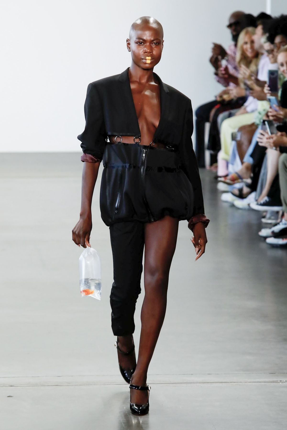 Romeo Hunte SS20 - Look 1, courtesy of brand