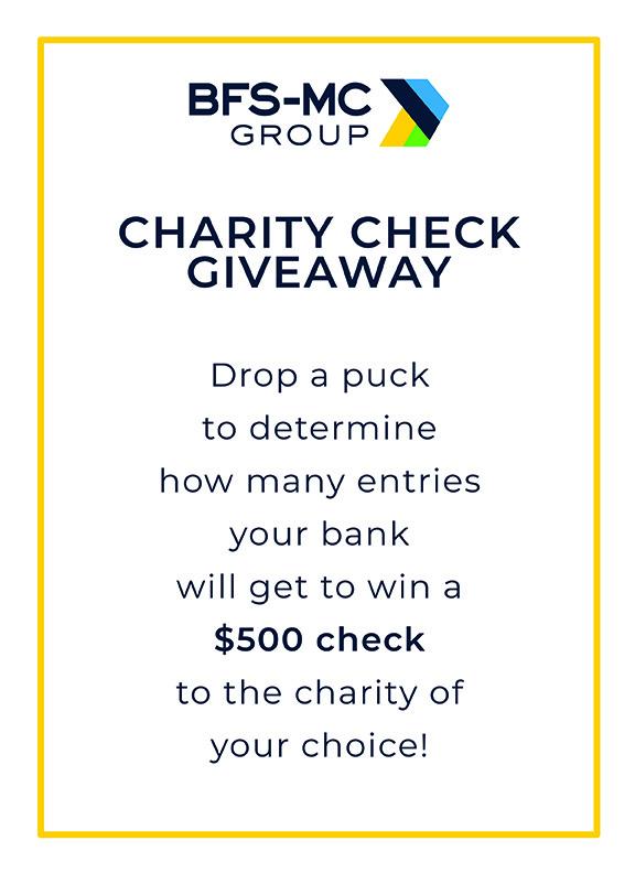 BFS-MC Charity Check Giveaway at ABA