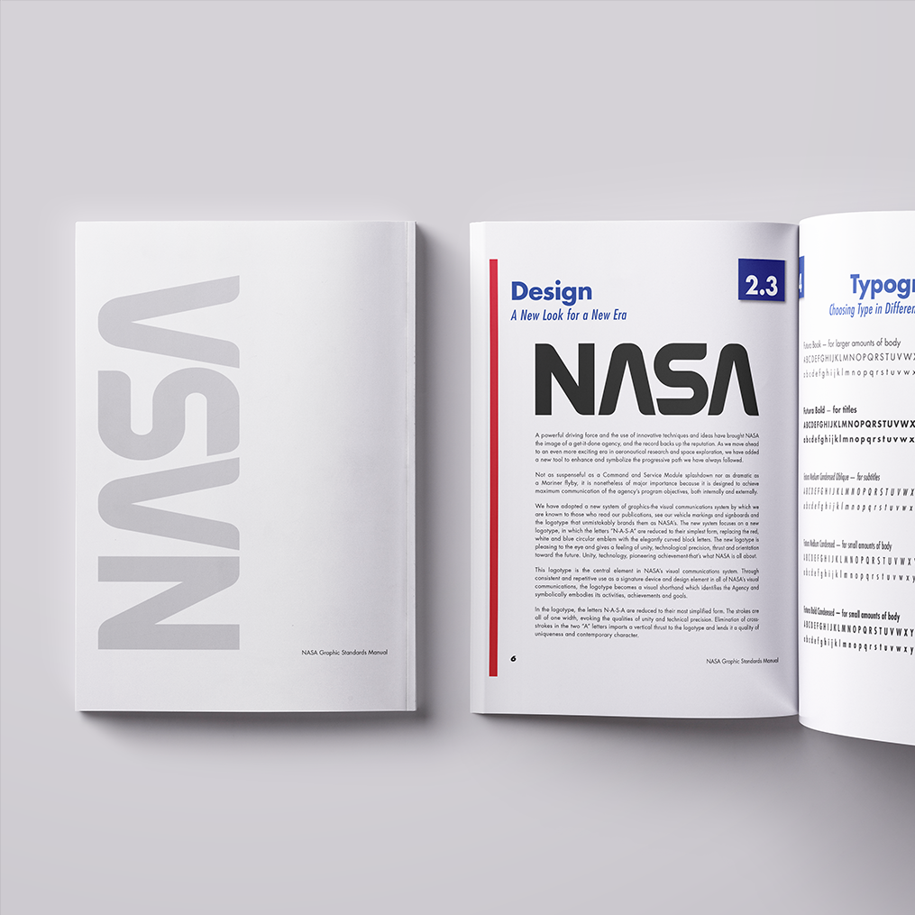 NASA   A look into what it would look like if the NASA logo was simplified from the current emblem and made to recall the simple, elegant mark from the 1970's.