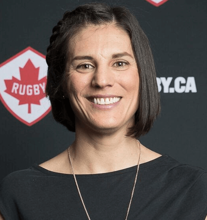 Dr. Maria Gallo   Ph. D, Muscle Exercise Biochemistry. World Cup rugby player. Rugby Canada Hall of Fame. Director, UBC High Performance Coaching and Technical Leadership graduate program.   More about Maria »
