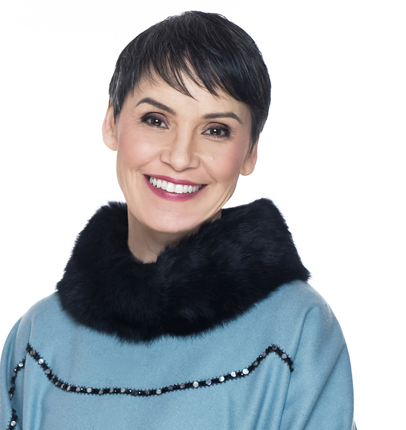 Susan Aglukark   Singer-songwriter. Three time Juno winner. Founder and Chair, Arctic Rose Foundation. Recipient of the Officer of the Order of Canada. Activist.   More about Susan »