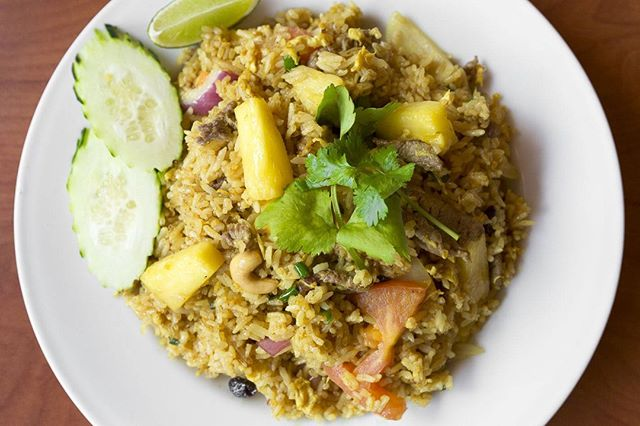 Nothing could be better for Wednesday than Pineapple Fried Rice!  Prove it! . . . #instagood #food #sweet #yummy #instapic #yum #delicious #fresh #foodie #hungry #homemade #foodgasm #pdxeats